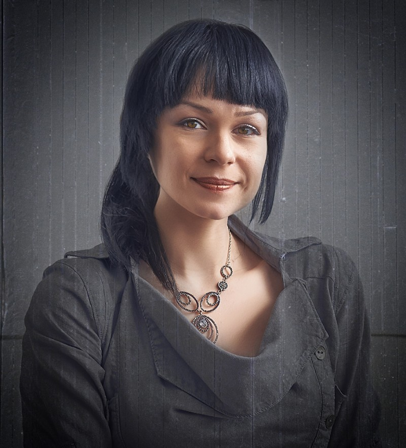 woman portrait headshot