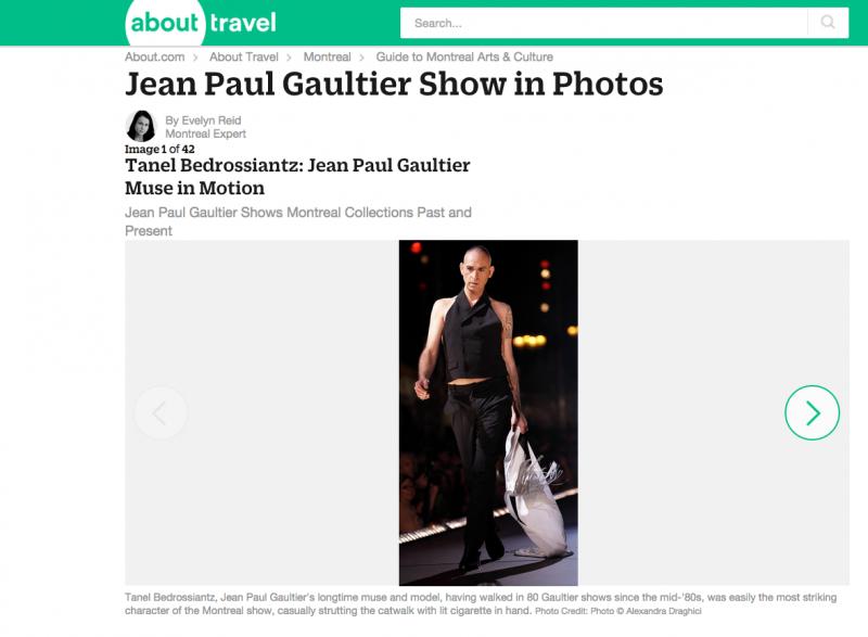 Fashion show –  Jean Paul Gaultier